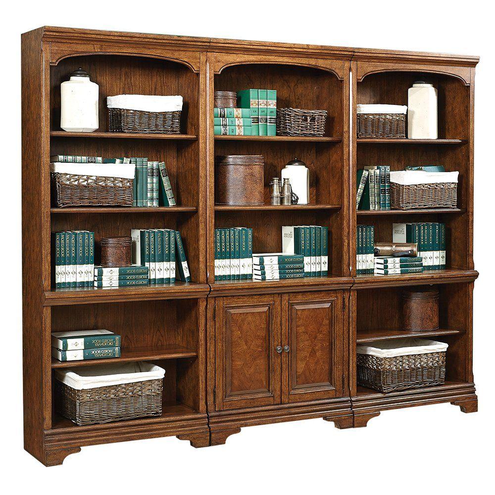 Highland 15 Shelf Bookcase Wall Traditional Bookshelves Bookcase Wall Bookcase Home