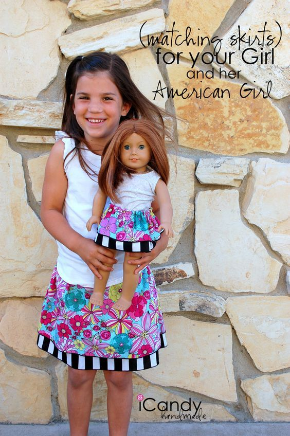 fa7b2e070f My girls love matching outfits with their American Girl Doll! This Girl &  18