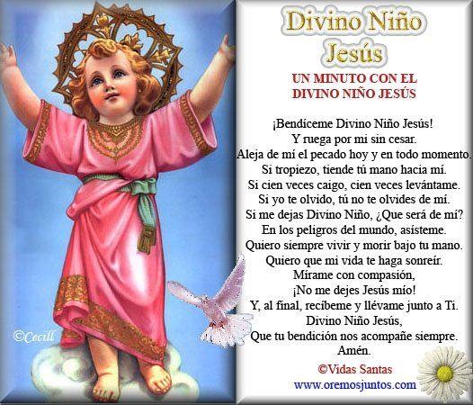 Oracion del niño divino - Imagui
