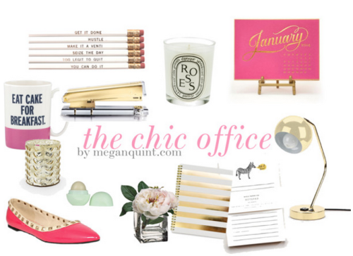 Chic Office Decor chic office decor {cute working girl must-haves} | {desk decor