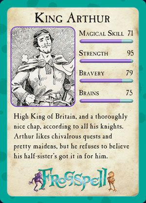 king arthur characters and descriptions