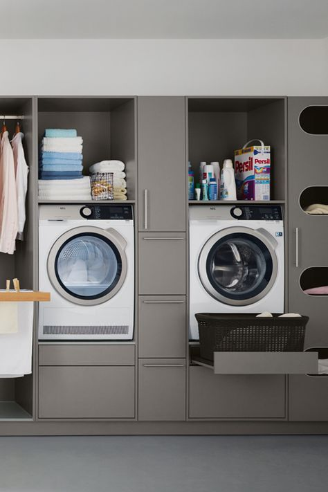 Hauswirtschaftsraum Von Spitzhuttl Home Company Hauswirtschaftsraum Waschkuchendesign Und Kleine Waschkuche
