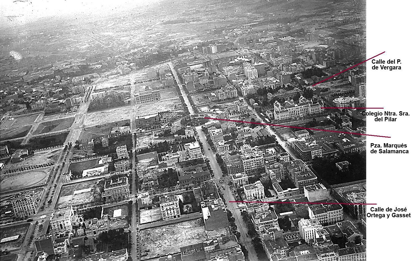 Barrio De Salamanca Fotos Antiguas Madrid Album De Fotografia