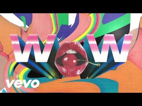 Beck Wow Lyric Video Cover Art Cover Album