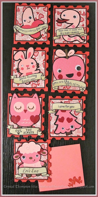Valentine S Day Card Set Made Using Cricut Art Philosophy Create A
