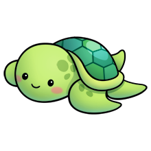 sea turtle just because i freaking adore turtles need to try rh pinterest com cute baby turtle clipart cute turtle clipart