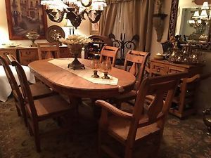 Rustic Dinning Table And 6 Chairs Dining Tables And Sets Markham York Region Kijiji Dining Table Dinning
