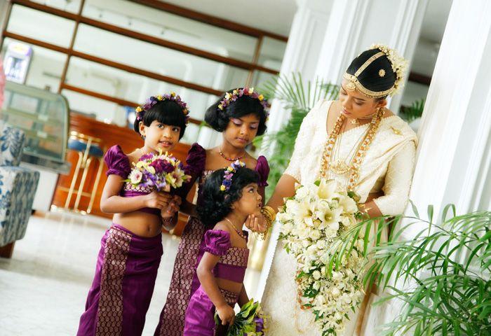 Bridal gallery panadura sinhala tamil western brides for Wedding party dresses in sri lanka