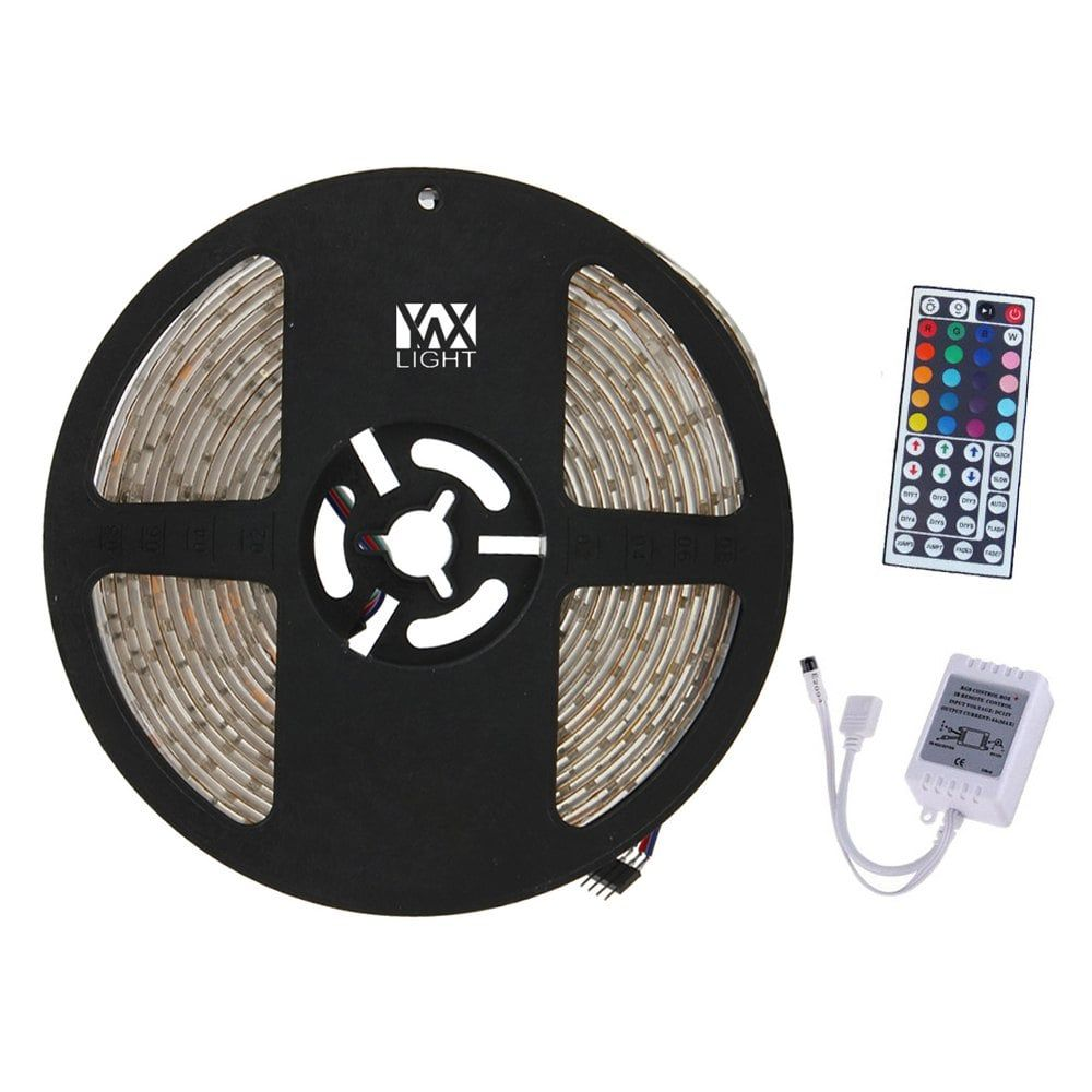 Led Light Strips With Remote Ywxlight 5M 300Led 3528Smd Waterproof 44Key Remote Control Flexible
