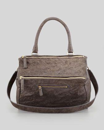 f91972c492 Perfect color- Pandora Medium Old Pepe Satchel Bag, Charcoal by Givenchy at  Bergdorf Goodman.