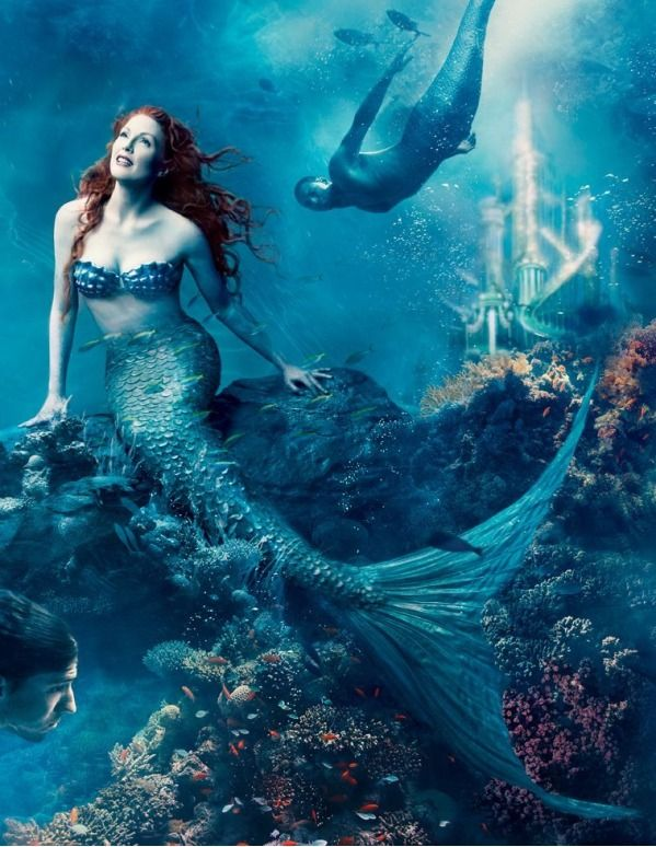 23 Disney Characters Brought To Life By Celebrities Like Beyonce Scarlett Johansson And Z Disney Dream Portrait Beautiful Mermaids Annie Leibovitz Photography