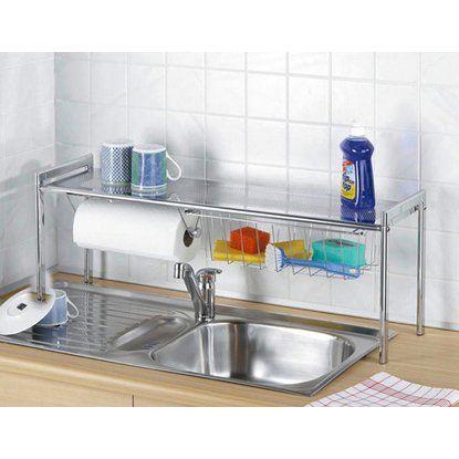 Zubehör für küchenmöbel  Wenko Spülbeckenregal Exquisit | Zubehör für küchenmöbel ...