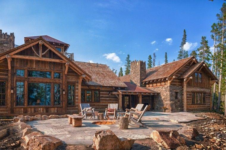 Casas rurales de madera y piedra casas de campo - Casas rurales madera ...