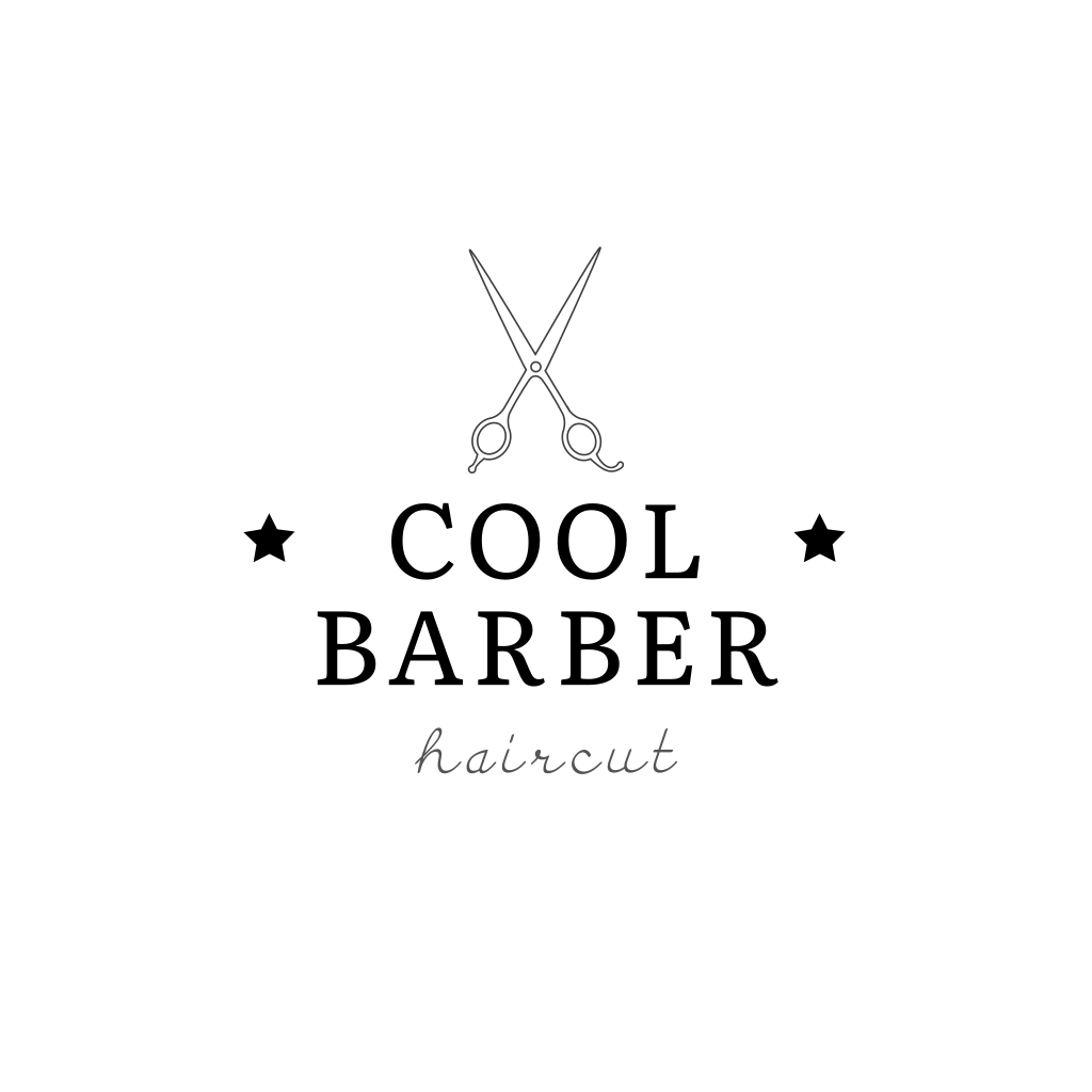 Scissors Salon Logo Salon Logo Hair Salon Logos Barber Logo