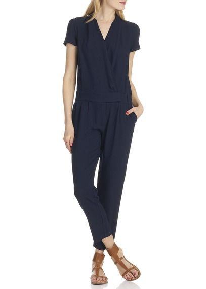 Combinaison pantalon cabalona bleu by comptoir des cotonniers mode pinterest combinaison - Tunique comptoir des cotonniers ...