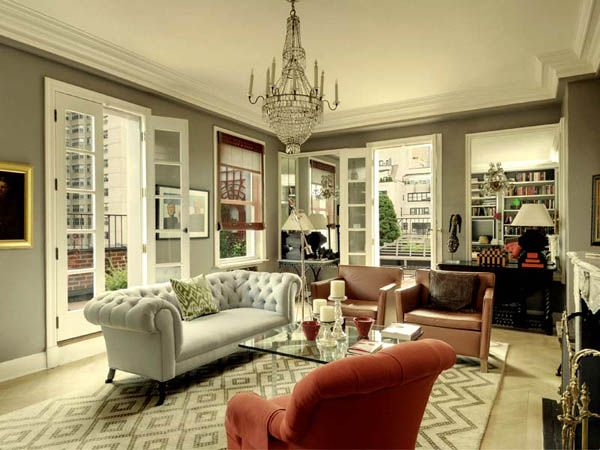 Small Penthouse In Manhattan Classy Interior Design Ideas And