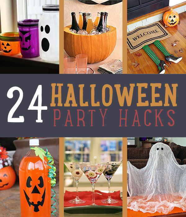 Halloween Party Hacks For A Scarier Holiday Party hacks, DIY - diy halloween party decorations