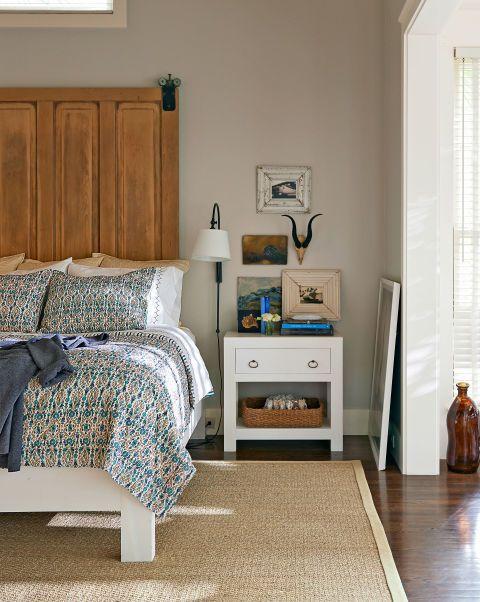 Smokey Blue Bedroom: Escape Into This Relaxing South Carolina Retreat
