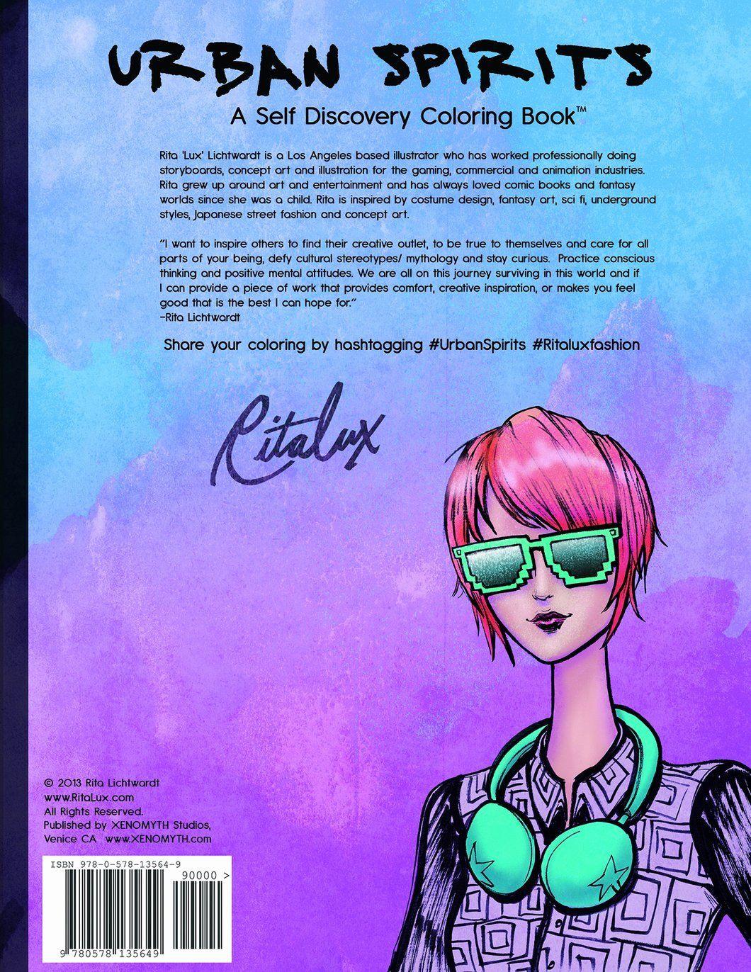 Cartoon Coloring Book Pdf Download Best Of Urban Spirits A