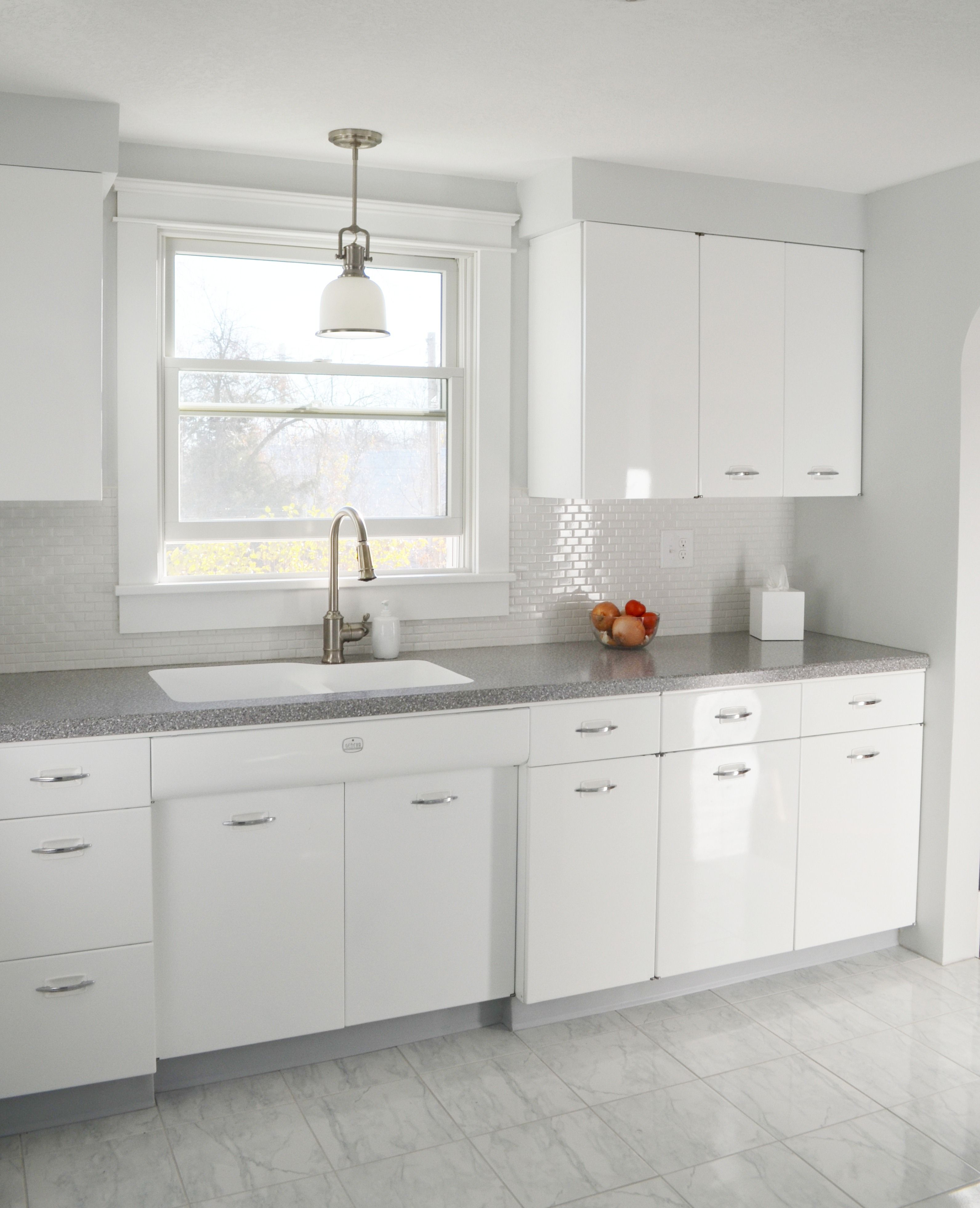 Hackel Construction Inc Remodeled This S Kitchen By Having - 1950's kitchen light fixtures