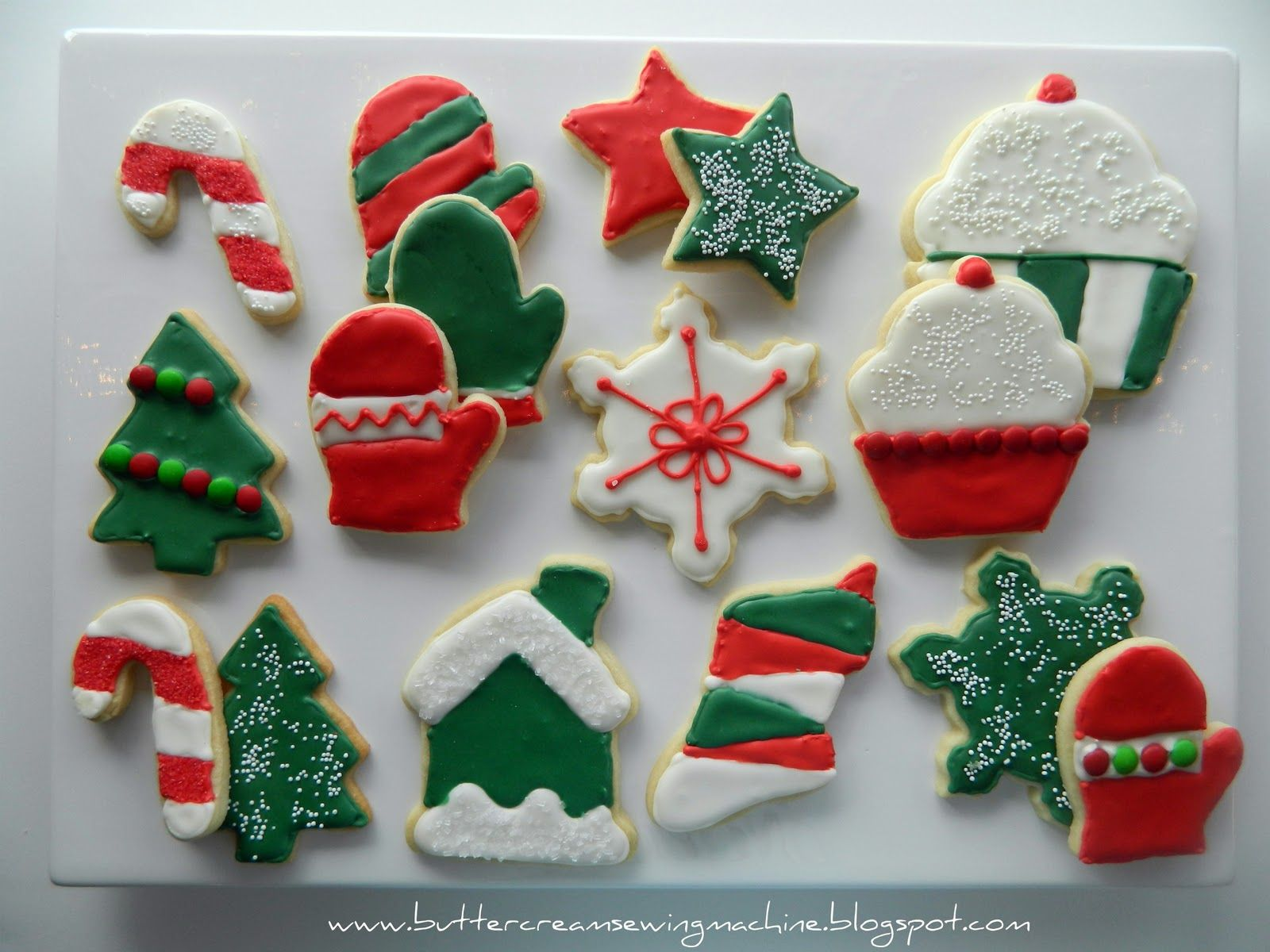 Christmas Biscuits Decoration Ideas Part - 20: Christmas Cookies - Check Out Heaps Of Terrific Christmas Decorations!