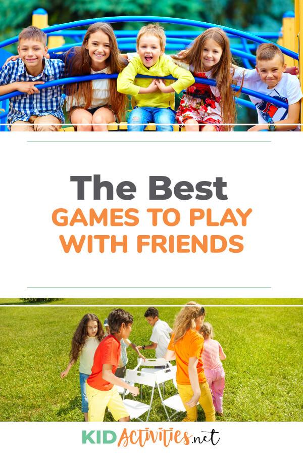 50 Fun Games to Play with Friends Fun games, Fun games