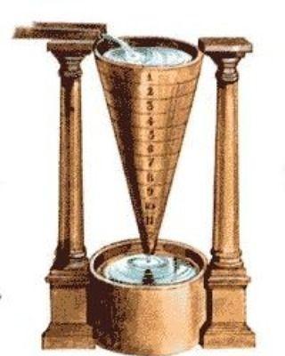 Clessidra Ad Acqua Egiziana.Orologio Ad Acqua Antico Egitto Matematica Antico Egitto