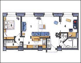 Идеи Вашего Дома - Перепланировки. Вся информация о перепланировке квартир