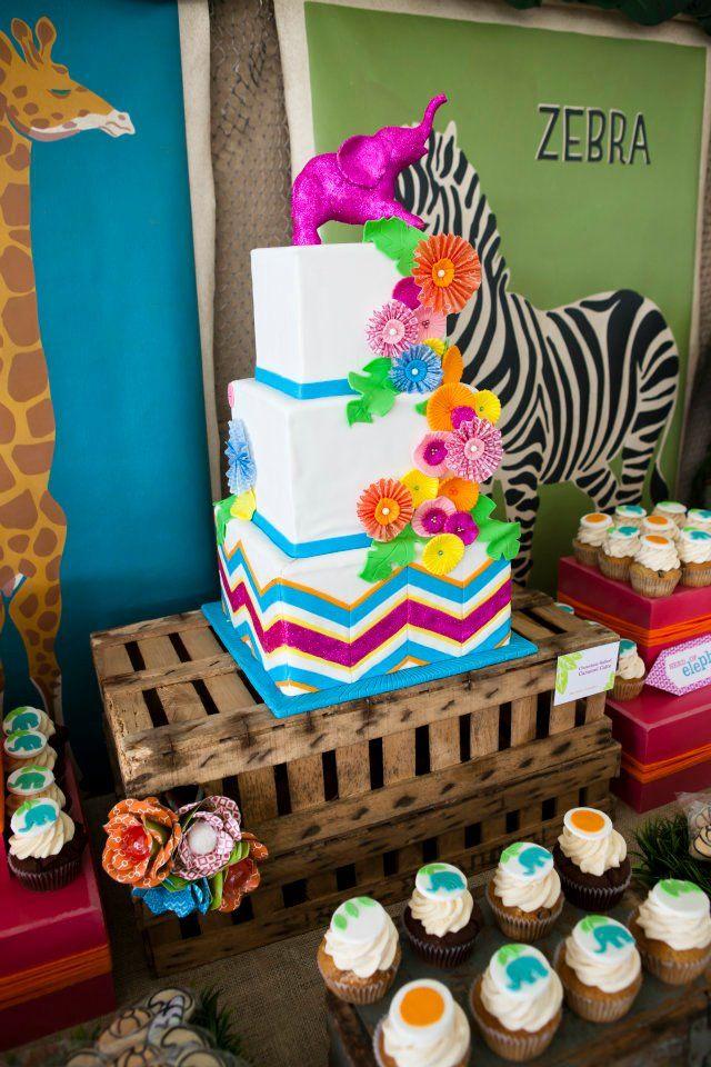 Sweets Indeed Blog » Blog Archive » Operation Shower Sunshine Safari – Dessert Station