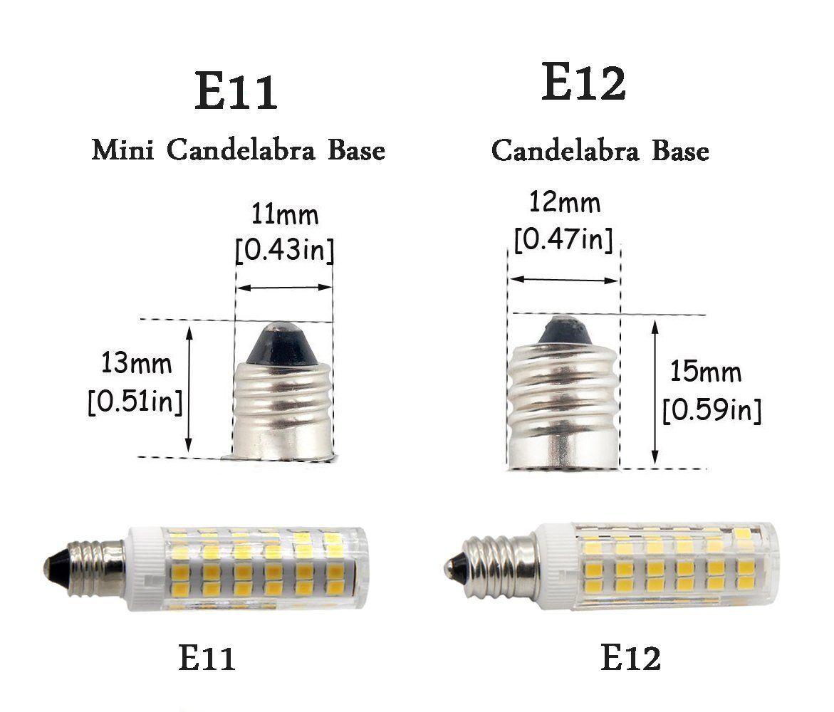 E11 Led Light Bulb 5w To 6w 60w 120v 130v Halogen Bulbs Equivalent Mini Candelabra Jd E11 Base T3 T4 Led Bu Light Bulb Led Light Bulb Vintage Bathroom Lighting
