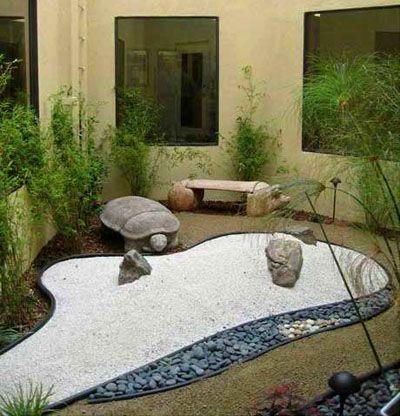 Jardin zen patio interior consultorio dise o de jardin - Diseno patio interior ...