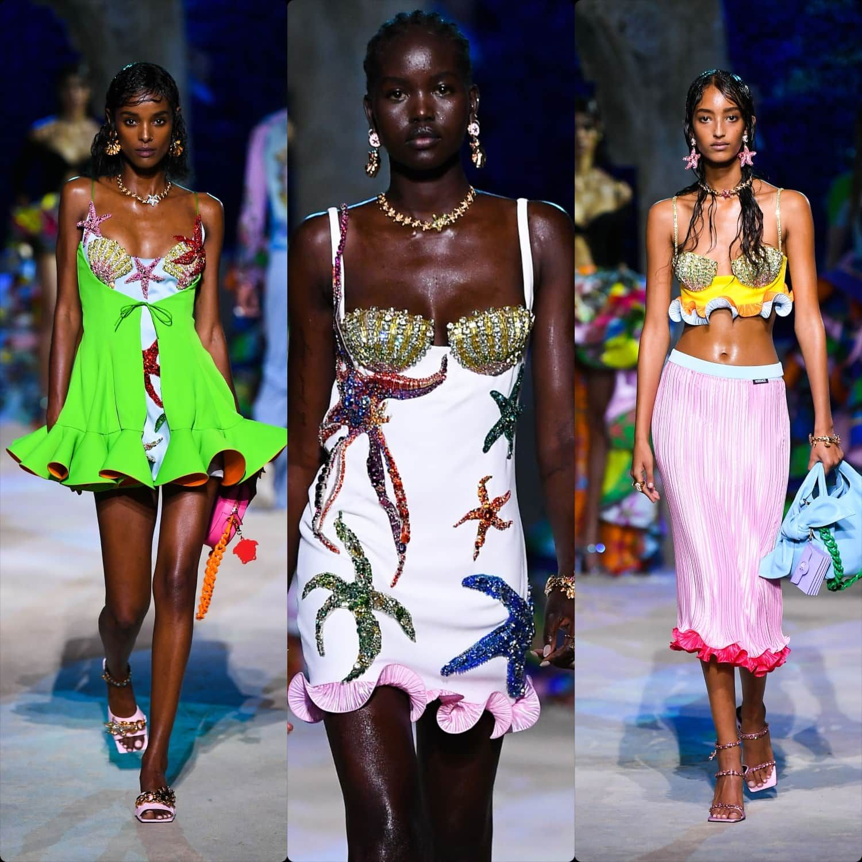 Versace Spring Summer 2021 - RUNWAY MAGAZINE ® Off