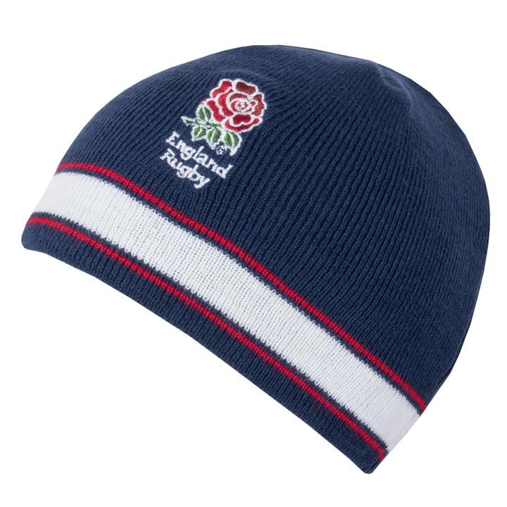 378423c49c4 Rugby World Cup 2019 England Beanie Hat | Navy | Adult | Rugby ...