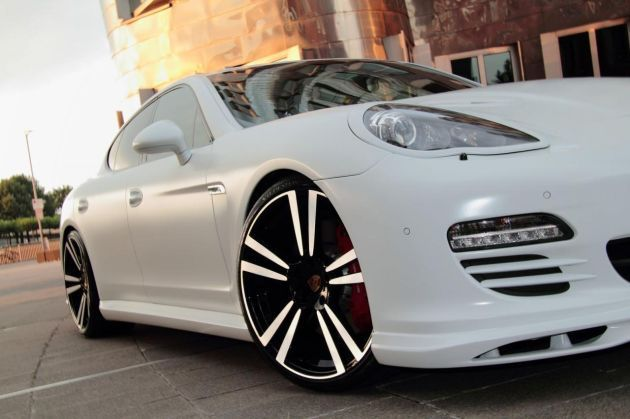 Porsche Panamera White Storm Edition By Anderson Germany Www Dream Car Tv Via Flickr