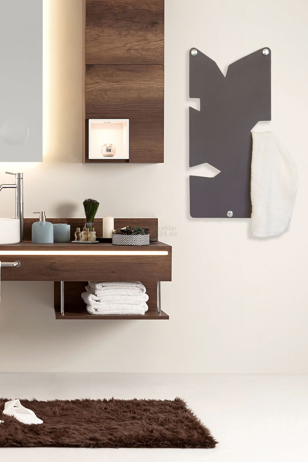 Handtuchwarmer Im Aussergewohnlichen Design Furs Badezimmer