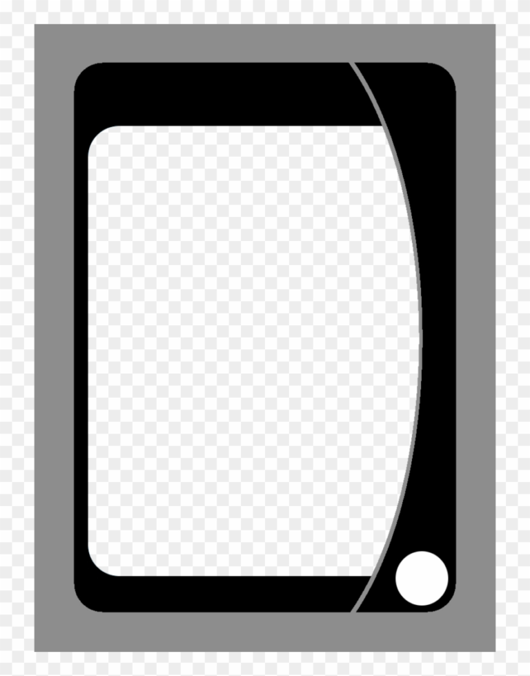 Playing Card Template Png Uno Card Blanks Clipart Within Blank Magic Card Template Callforpcissu In 2020 Blank Playing Cards Card Template Card Templates Printable