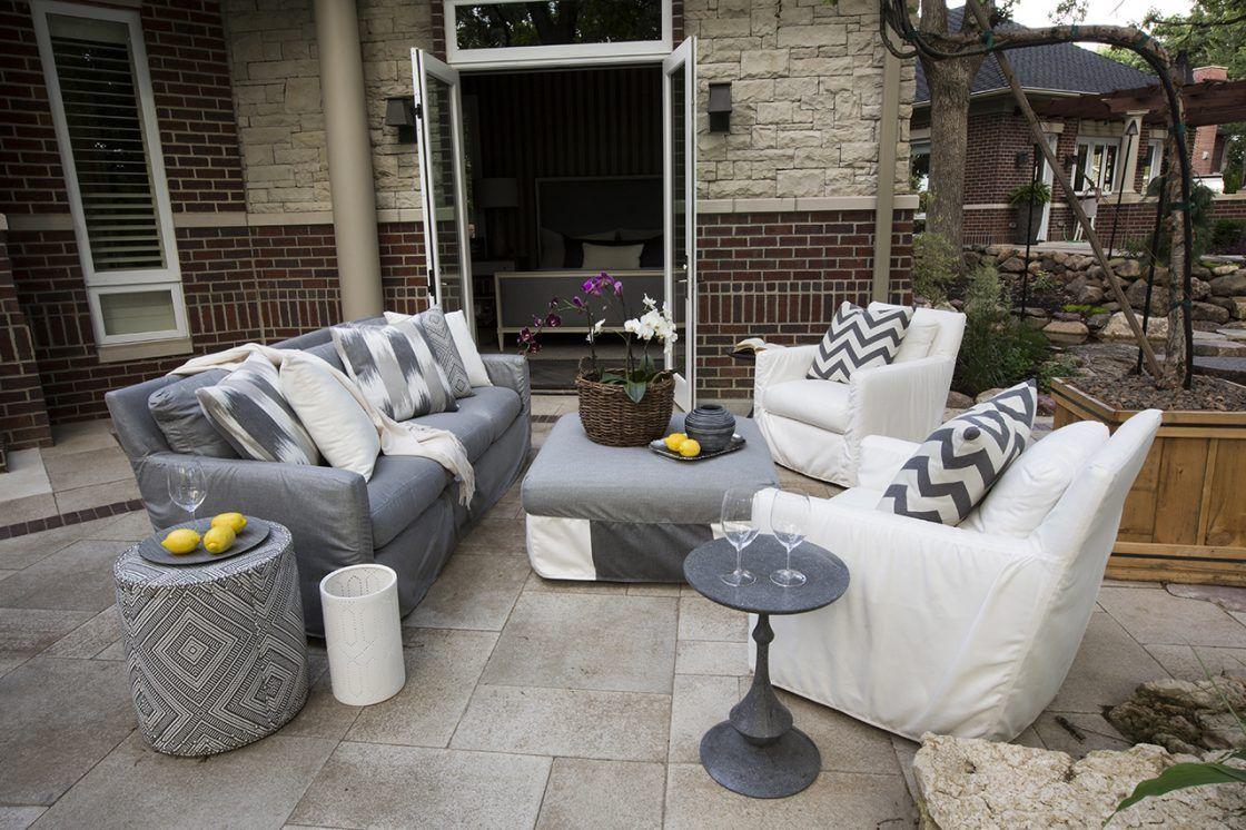 Nice Upholstered Outdoor Furniture   R. Cartwright Design, Des Moines Iowa  Interior Designer Nice Ideas