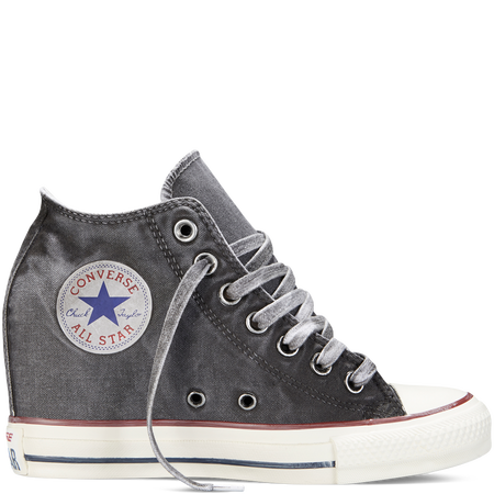 02dfceccd1fb Chuck Taylor All Star Lux Wedge Washed Canvas storm wind. Just copped these  for me and my best!