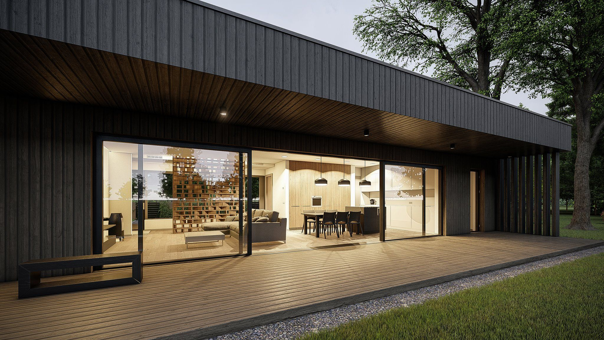 Modern house workshop rendered in lumion 8 pro by fatih eksi view the whole