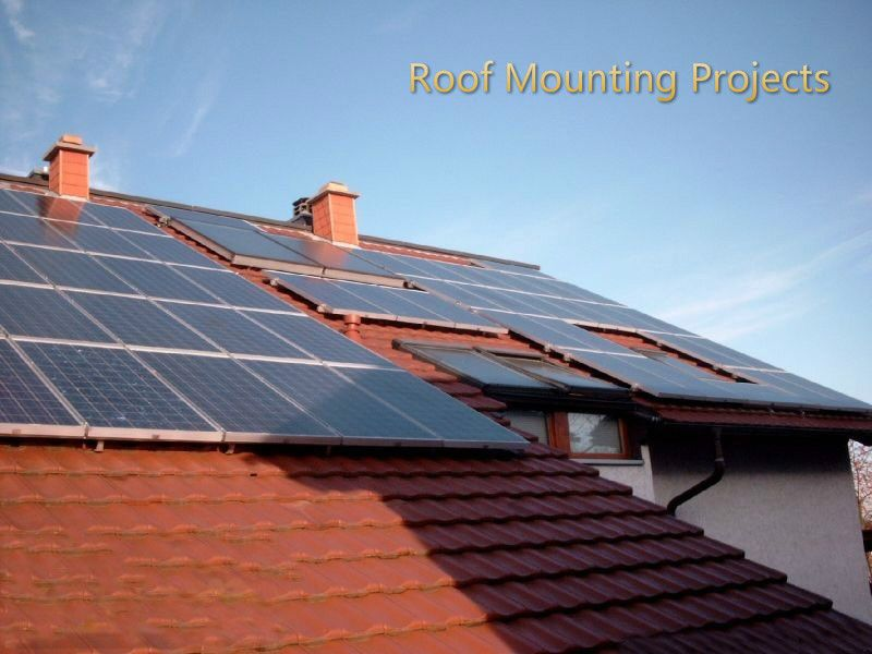 Tsdsolar Mendy Roof Solar Panel Outdoor Decor Solar Panels