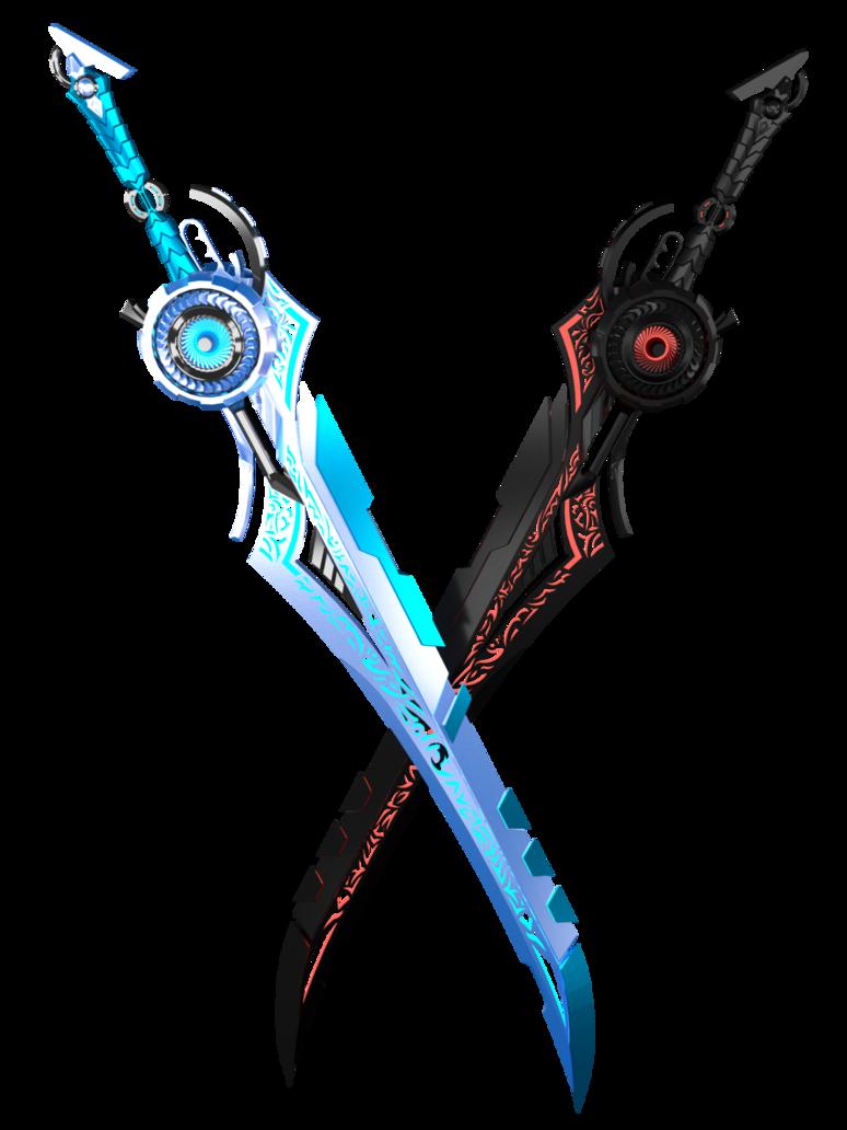 Sci-Fi Swords By Kalephrex