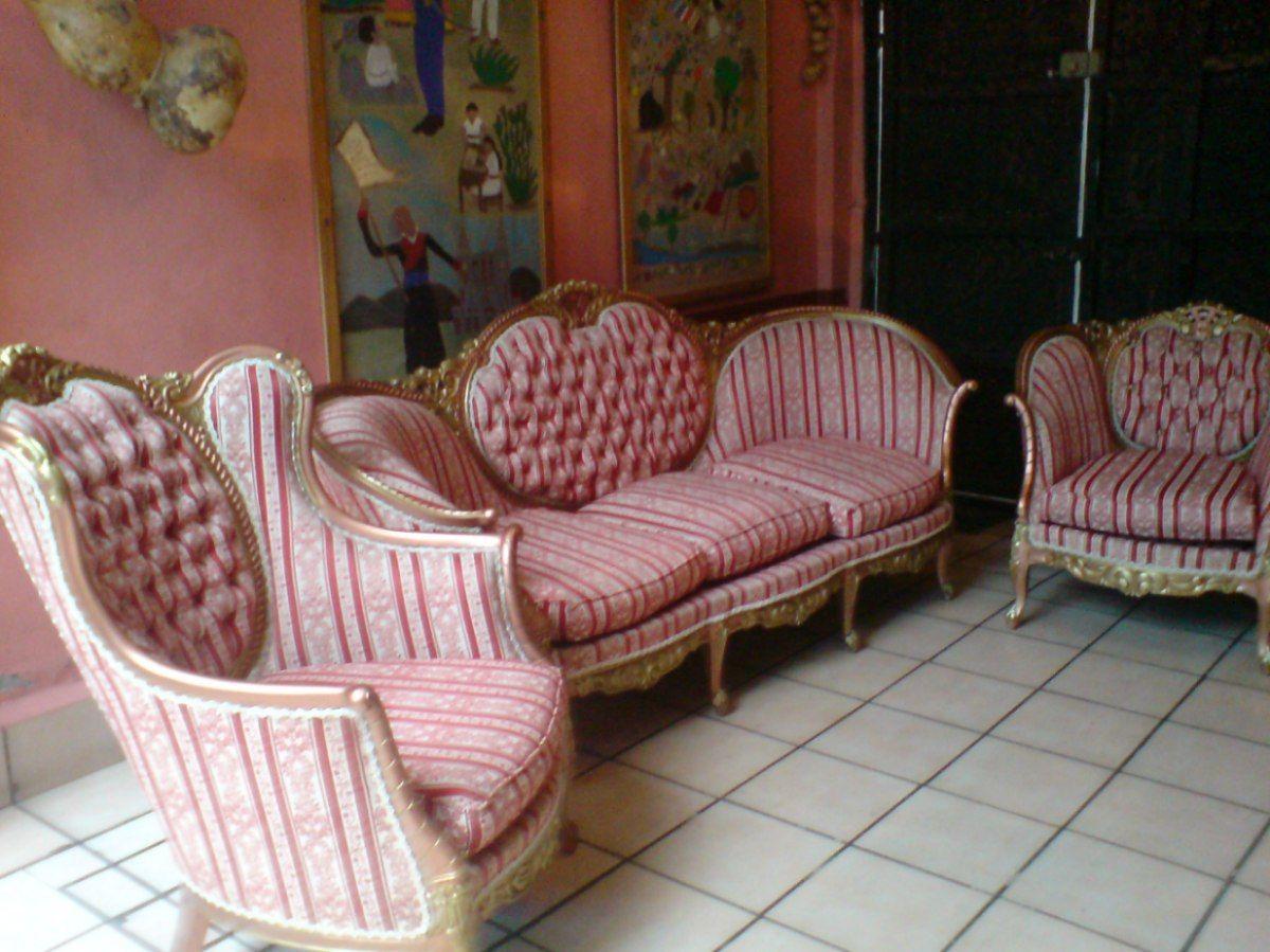 Preciosa Sala Luis Xv Antigua Mercado Libre Sala Luis Xv  # Muebles Luis Xv Mercadolibre