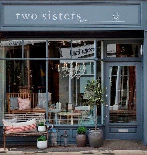 Two Sisters Home Furniture Store Address 3 Church Road London Sw19 5dw United Kingdom Phone 44 20 8605 2441 Hour Shop Interiors Sister Home Shop Fronts