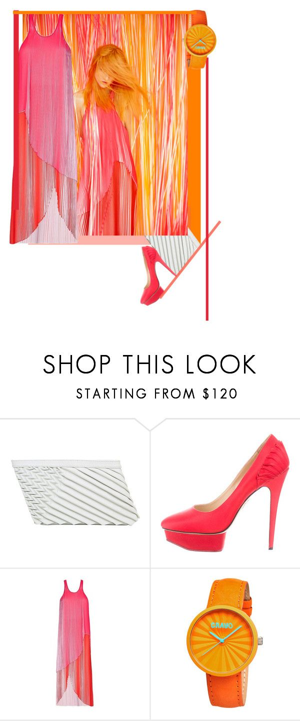 """""""Depleated"""" by nino-d-f ❤ liked on Polyvore featuring Sabrina Zeng, Charlotte Olympia, STELLA McCARTNEY and Crayo"""