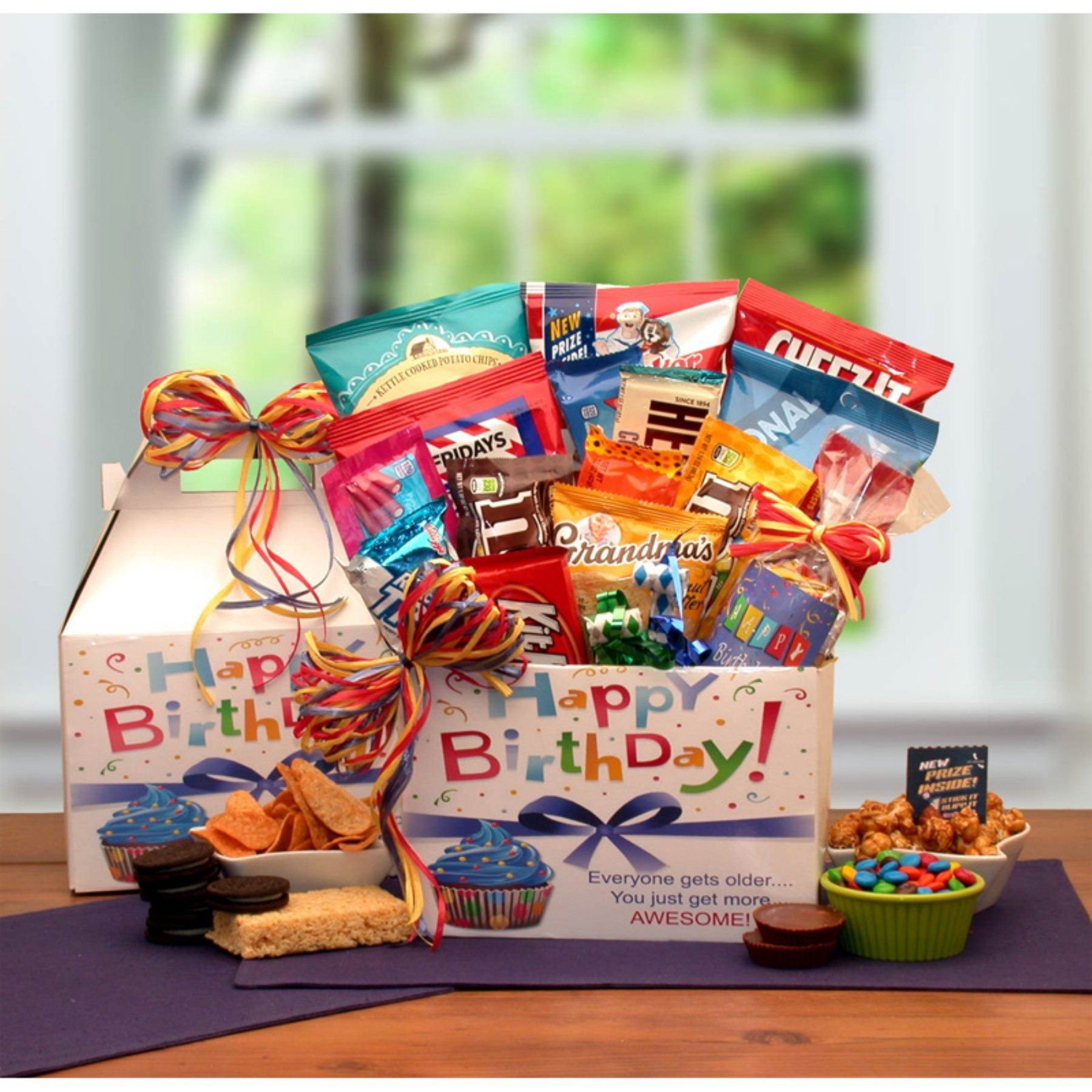 Gift Basket Drop Shipping Make A Wish Birthday Care Package