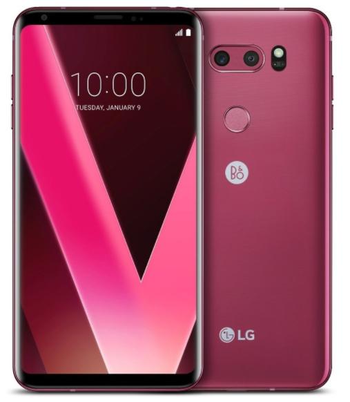 21357684e28d8 LG V30+ Dual Sim H930DS 128GB Rose With B O Earphones  LGV30+  V30+  B O   H930DS  smartphones