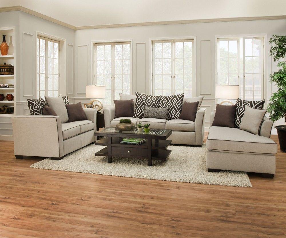 Stewart Linen Sofa And Love 4202 Living Room Sets Price Busters Furniture Living Room Sets Sofa Furniture
