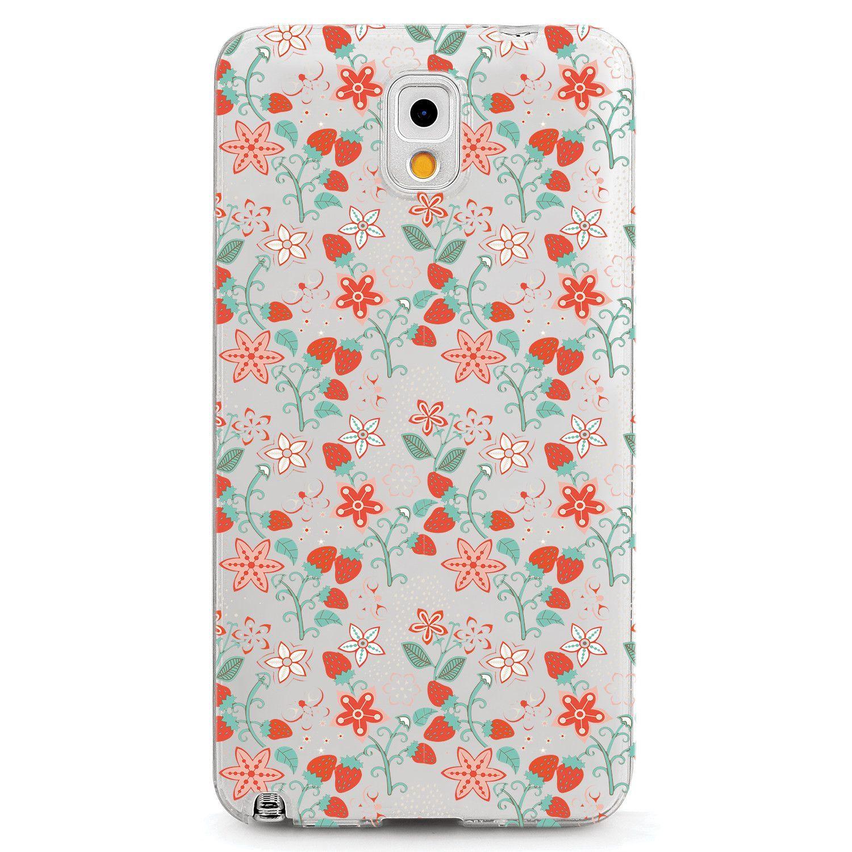 Strawberry Flower Pattern