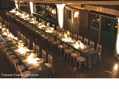 Torpedo Factory Art Center Alexandria Virginia Wedding Venues Waterfront Reception Sites 22134