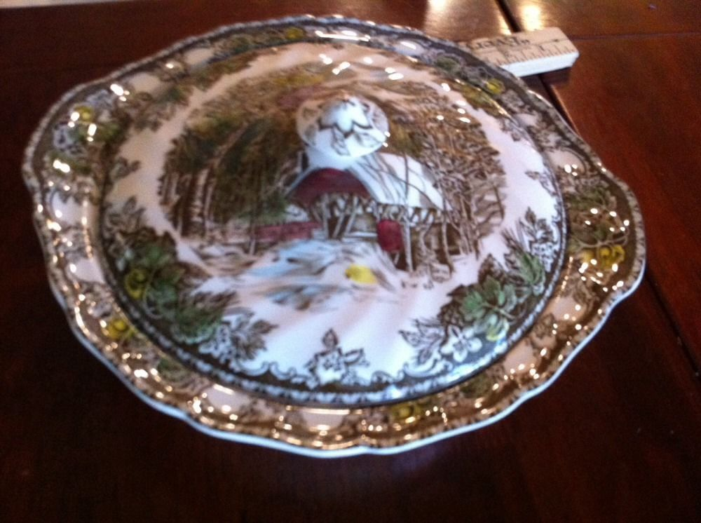 Johnson Brothers Friendly Village Covered Casserole Serving Dish ...